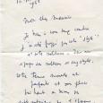 Jean Cocteau (1889/1963) Artiste aux multiples talents Lettre autographe signée «Jean Cocteau» à l'étoile 1p in-8 – 12 mars 1958 à Maurice CHEVALIER «Mon cher Maurice. Je tiens à vous […]