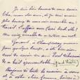 Alphonse DAUDET (1840/1897) – Ecrivain Lettre autographe signée – 1p in-12 Alphonse Daudet s'adresse à un ami, lui demande si une affaire avec Carré [albert] est encore d'actualité. Il parle […]
