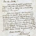 Alexandre DUMAS père (1803/1870) – Romancier Lettre autographe signée – 1p in-8 – Paris 22 avril 1837 – à M. Herbin, directeur de la Revue du Théâtre «Mon cher Herbin […]