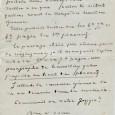 Eugène FROMENTIN (1820/1876) – Artiste peintre et Ecrivain Lettre autographe signée 1p in-8 - «Mon cher ami, sans préjudice des corrections que je vous ai portées hier, voulez vous bien […]