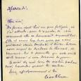 Léon BLUM (1872/1958) Homme d'Etat français et figure du socialisme Lettre autographe signée 1p in-12 Sa femme étant fatiguée il ne peut se déplacer à Sèvres, et remet sa visite […]