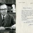 Michel DEBRE (1912/1996) – Homme d'Etat français Résistant et gaulliste, il contribue à l'écriture de la Constitution de la Ve République. Lettre autographe signée – 1p in 8 – à […]
