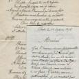 [Tsar de Russie NICOLAS II] Lettre autographe signée du 18 septembre 1896 + manuscrit autographe d'une chanson crée pour la visite du Tsar NICOLAS II en France M. LEDUC propose […]