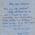 Billy BALZAC boxeur professionnel et pilote durant la guerre 14/18 Il fut champion de France et d'Europe de boxe, catégorie poids moyen en 1920 et 1921 Lettre autographe signée  […]