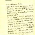 Alfred CORTOT (1877/1962) – Pianiste  Lettre autographe signée. 1p in-4 – En-tête ALF. CORTOT – 1er juillet 1939           […]