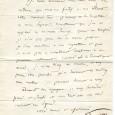 Félicien César DAVID (1810/1876) – Compositeur  Lettre autographe signée – 1p in-8 - s.l.n.d.  «Je vous remercie mon cher ami du cadeau que vous me faites, en […]