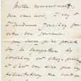 Léo DELIBES (1836/1891) – Compositeur  Lettre autographe signée. 1p in-8 Lettre à Victorin Joncières – Félix Ludger Rossignol dit Victorin (de) Joncières (1839/1903) Compositeur et critique musical. «Mille […]