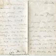 Léo DELIBES (1836/1891) Lettre autographe signée. 4p in-8 Lettre à Brion, il lui donne la marche à suivre pour déposer une partition en vue d'un concours :    […]
