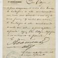 Lettre autographe signée par le maire adjoint du 17e arrondissement de Paris, sur papier à en-tête «République Française Ville de Paris Mairie du 17e arrondissement» adressée au «citoyen maire du […]