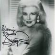 Ginger Rogers (1911 / 1995) Actrice et danseuse américaine, ayant formé un duo mythique avec Fred Astaire Photo avec signature autographe 85€