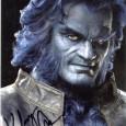 KELSEY GRAMMER [X-Men] Photo présentée sous passe partout 24 x 30 cm avec signature autographe 60€