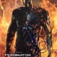 JASON CLARKE [T3000 Terminator] Photo présentée sous passe partout 24 x 30 cm avec signature autographe 60€