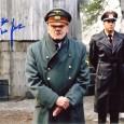 BRUNO GANZ [La Chute] Photo présentée sous passe partout 24 x 30 cm avec signature autographe 70€